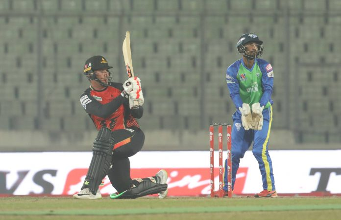 Khulna Titans registered their second win