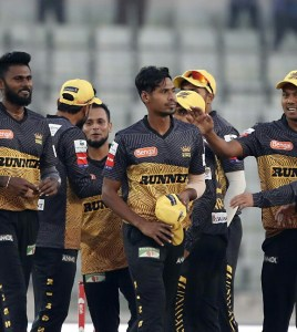 Impressive bowling performance earned Rajshahi success
