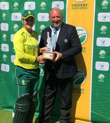 All-round Van Niekerk blasts Proteas women to opening series victory