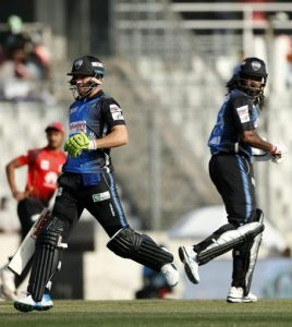 Rangpur Riders clinched a comprehensive 9-wicket victory over Comilla Victorians