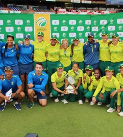 Proteas women complete T20i series whitewash