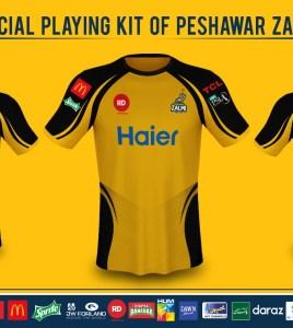 Peshawar Zalmi jersey revealed by Daren Sammy himself
