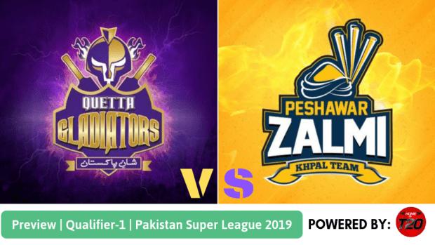 Pakistan Super League 2019 Qualifier 1 Peshawar Zalmi vs Quetta Gladiators