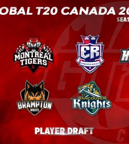 GT20 Canada Player Draft season 2 Live Streaming
