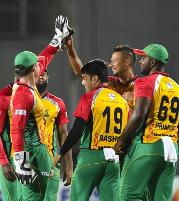 Guyana Amazon Warriors Squad for CPL 2019