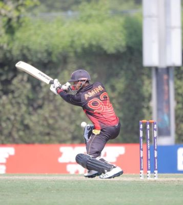 Oman sealed qualification for the next stage of the ICC Men's World T20 Qualifier