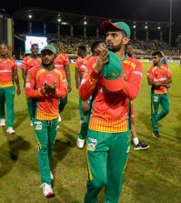 Malik has been named as captain of CPL's team of the tournament, 2019