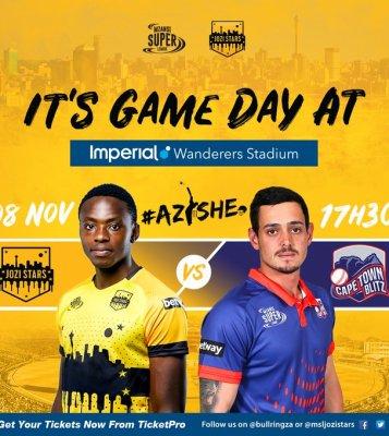 Jozi Stars vs Cape Town Blitz