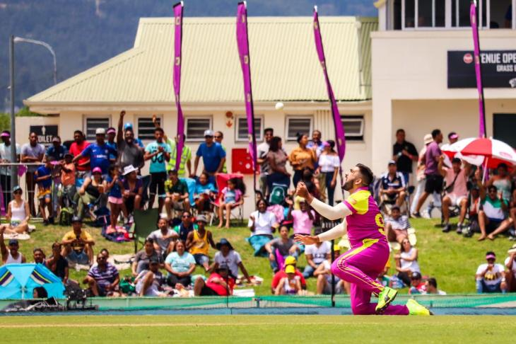 Paarl Rocks thrashed Cape Town Blitz on Sunday in MSL