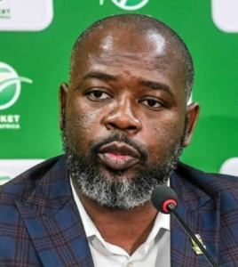 Cricket South Africa have suspended CEO Thabang Moroe