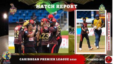 TKR keep on winning the CPL 2020 games