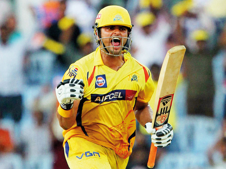 Suresh Raina sends good vibes to Chennai Super Kings