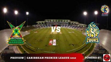 Preview: CPL 2020, Semi-final 2 Guyana Amazon Warriors vs St Lucia Zouks