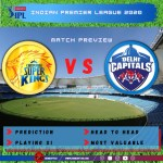 Preview: IPL 2020 Match 7 Chennai Super Kings vs Delhi Capitals