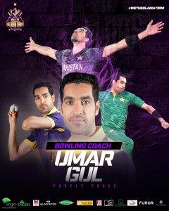 Quetta Gladiators sign Umar Gul as bowling coach