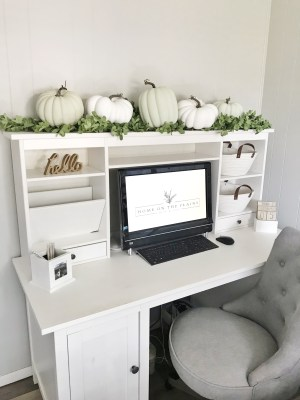 Autumn Desk