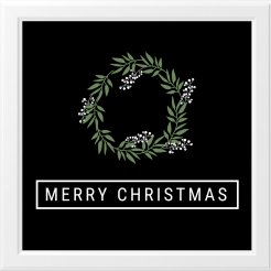 Christmas Wreath Print - Only $12 - Click now to get one for your holiday decor!