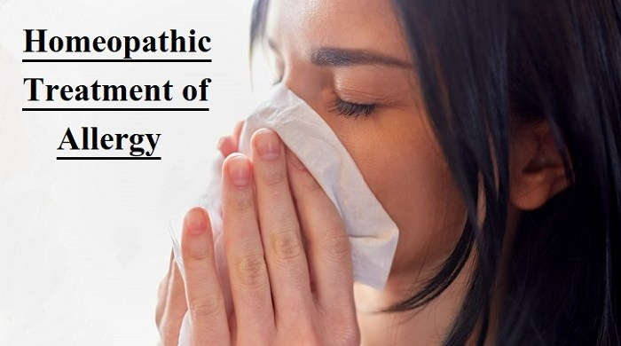 Allergy Treatment in Homeopathy