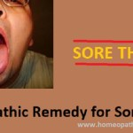 homeopathic remedy for sore throat