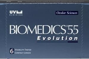 Biomedics  55 evolution  6 pk  4 for eye