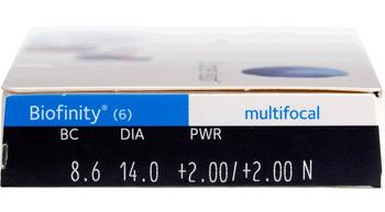 Coopervision Biofinity Multifocal 6pk