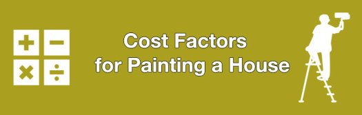 Caluclating The Cost Of Painting A House