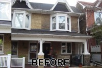 Painting Brick Exterior Row Home | Joy Studio Design ...
