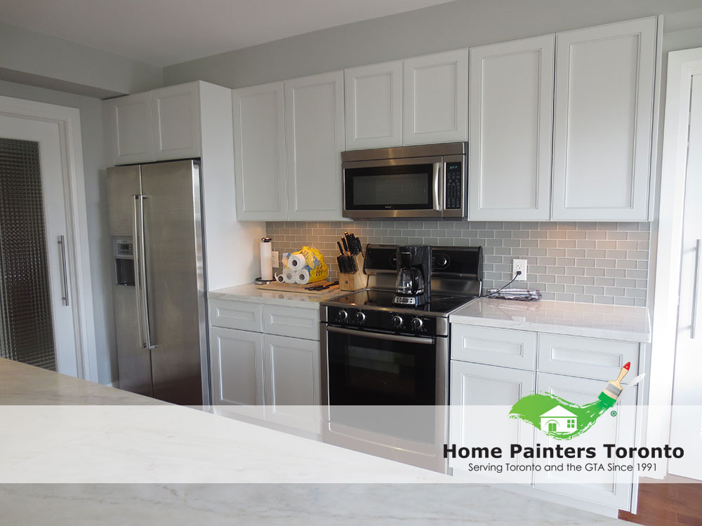 Home Painters Toronto  How To RePaint Your Kitchen Cabinets