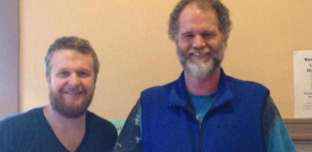 Pastor Luke and Pastor Bruce