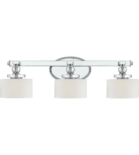 quoizel dw8603c quoizel downtown 3 light bath light in dw8603c in polished chrome