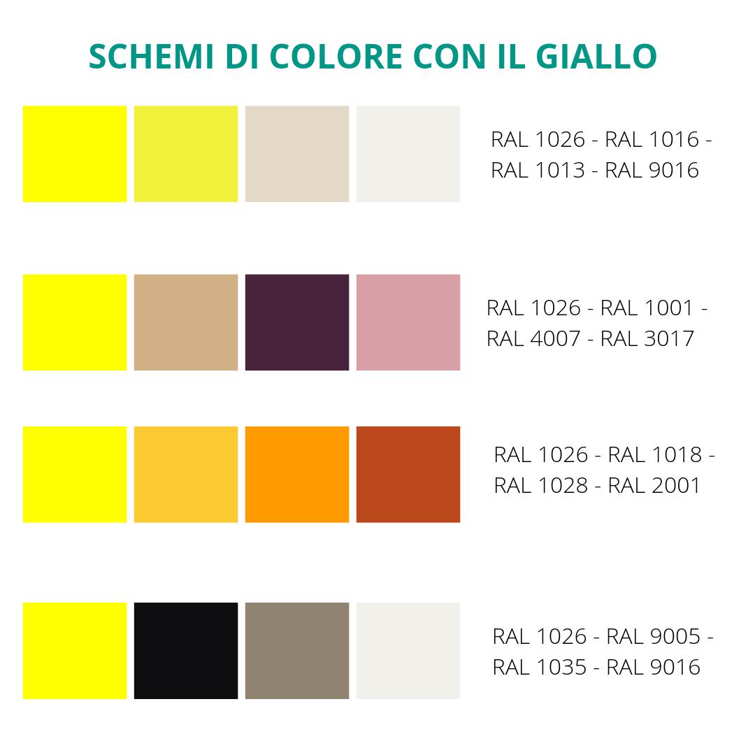 L'arancione nasce dal giallo con il rosso, il verde dal giallo con il blu e il viola dal rosso con il blu. Arredare Con Il Giallo Attraverso 21 Idee Da Copiare E 4 Schemi Di Colore