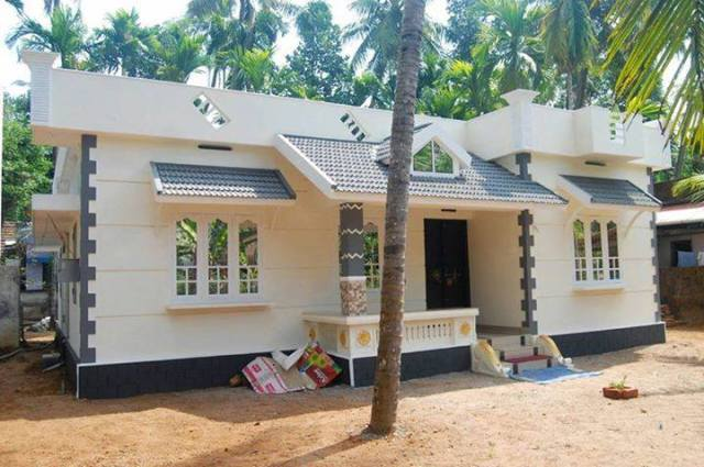 Low Budget Kerala Home Design At Kottayam With Plan - Home ...