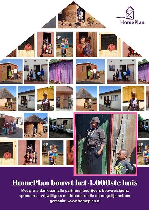 HomePlan bouwt 4.000ste huis!
