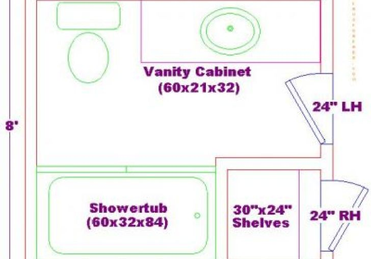 Bathroom Design 8 X 8
