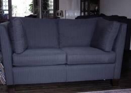"Lounge suite ""Milano"" 2-seat grey fabric"