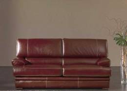 "Lounge suite ""Mambo"" brown bufalo leather 3+2 seat"