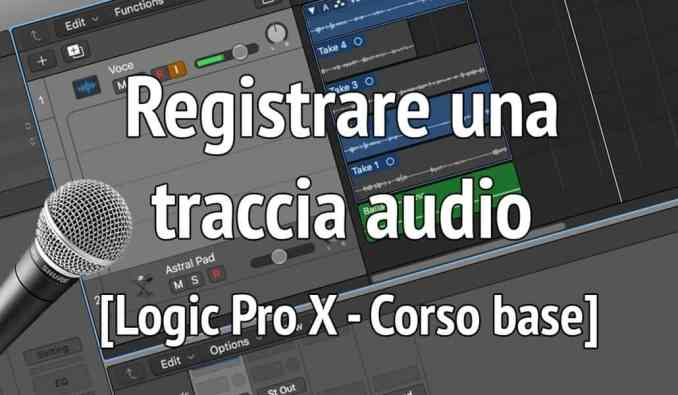 traccia audio logic pro x