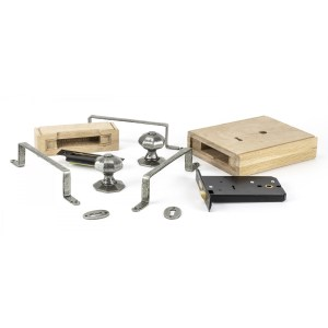 Pewter Patina Oak Box Lock Pieces Home Refresh 2020