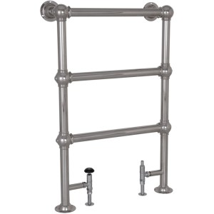 Colossus Steel Towel Rail Chrome - 1000mm x 650mm Carron_Home Refresh