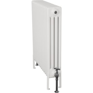 Home-Refresh-Carron-Enderby-4-Column-13-Section-Steel-Radiator-710mm-Farrow-and-Ball-White-Colour-Finish