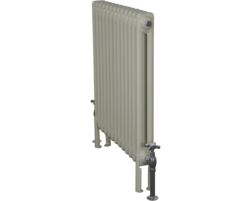 Home Refresh Enderby 2 Column, 13 Section Steel Radiator - 710mm Farrow and Ball French Grey Colour Finish