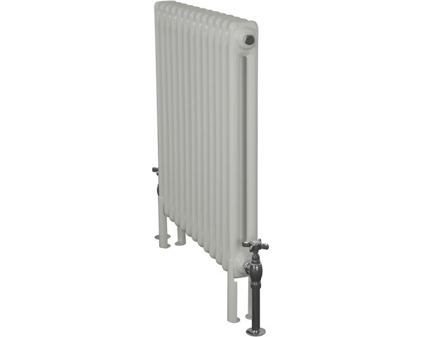 Home-Refresh-Enderby-2-Column-13-Section-Steel-Radiator-710mm-Farrow-and-Ball-Pavillion-Gray-Colour-Finish