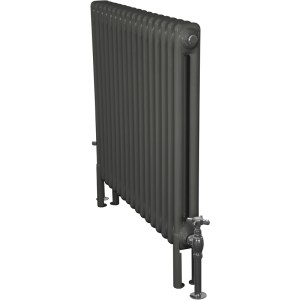 Home-Refresh-Enderby-2-Column-17-Section-Steel-Radiator-710mm-Farrow-and-Ball-Down-Pipe-Colour-Finish