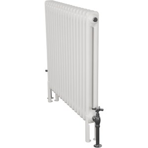 Home-Refresh-Enderby-2-Column-17-Section-Steel-Radiator-710mm-Farrow-and-Ball-White-Colour-Finish