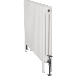 Home-Refresh-Enderby-3-Column-17-Section-Steel-Radiator-710mm-Farrow-and-Ball-White-Colour-Finish