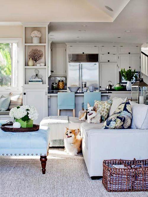 Una cucina di ispirazione Americana sempre illuminata   Home ...