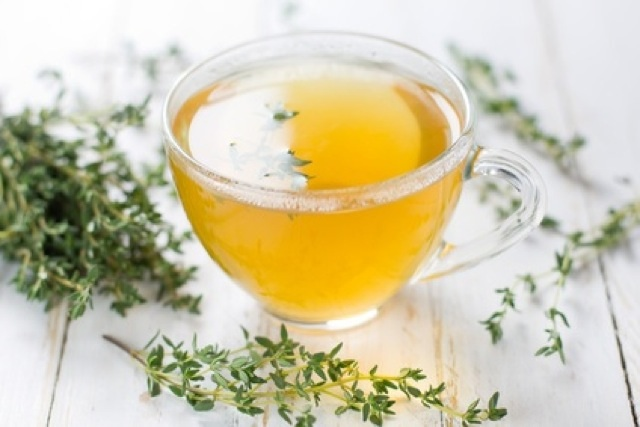 Herbal Thyme Tea for Cough Treatment