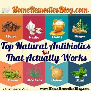 20 Proven Best Natural Antibiotics That Actually Works