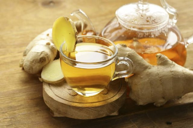 Ginger Tea for anal fistula treatment