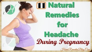 11 Natural Remedies for Headache During Pregnancy